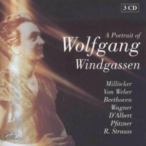 A Portrait Of - Wolfgang Windgassen