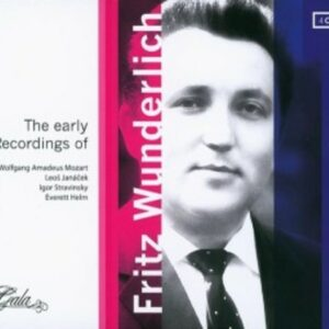 Early Recordings Of Fritz Wunderlich
