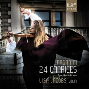 Paganini: 24 Caprices Opus 1 For Violin Solo - Lisa Jacobs