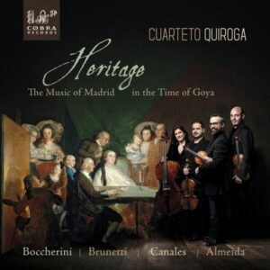 Heritage, The Music Of Madrid In The Time Of Goya - Cuarteto Qioroga