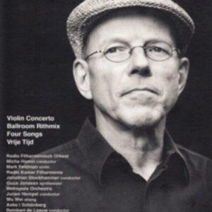 Guus Janssen: Violin Concerto etc. & DVD De Buitenbocht - Max Feldman, Radio Filharmonisch Orkest, Micha Hamel, etc.