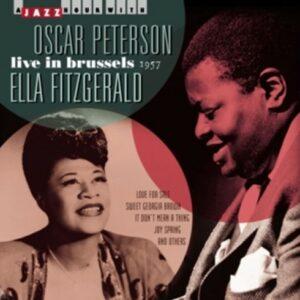 Live In Brussels 1957 - Oscar Peterson & Ella Fitzgerald