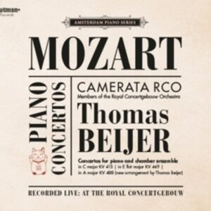 Mozart: Piano Concertos KV415 & 488 (arr. for chamber esemble) - Thomas Beijer