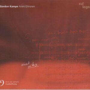 Gordon Kampe: Arien / Zitronen - Marcus Creed