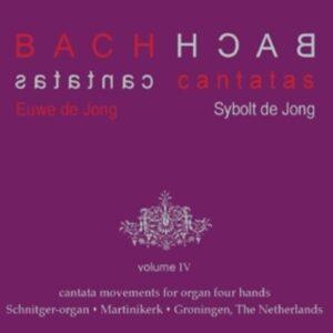 Bach: Kantatensätze für Orgel 4-händig, Vol.4 - Euwe & Sybolt de Jong