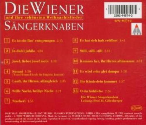 Weihnachtslieder - Wiener Sangerknaben