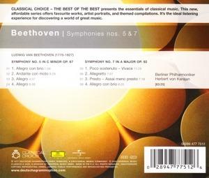 Beethoven: Symphonies Nos. 5 & 7 - Karajan