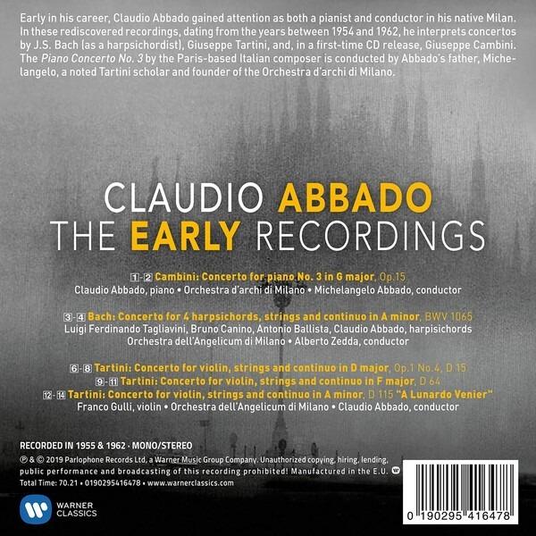 The Early Recordings - Claudio Abbado