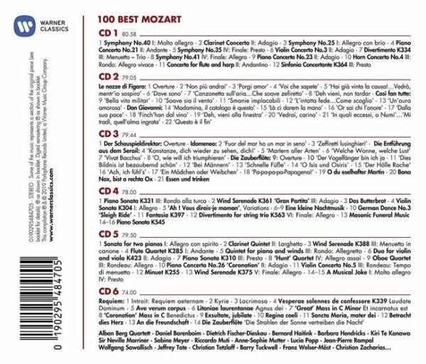 100 Best Mozart