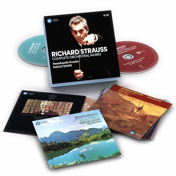 Strauss: Complete Orchestral Works - Rudolf Kempe