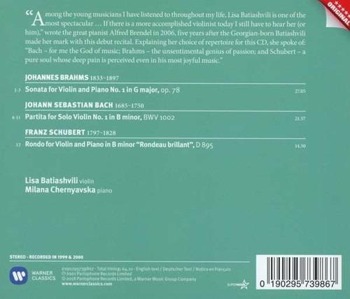 Brahms / Bach / Schubert: Sonatas - Lisa Batiashvili