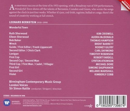 Bernstein: Wonderful Town - Simon Rattle
