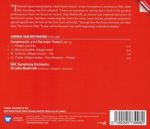 Beethoven: Symphony No. 3 'Eroica' - John Barbirolli