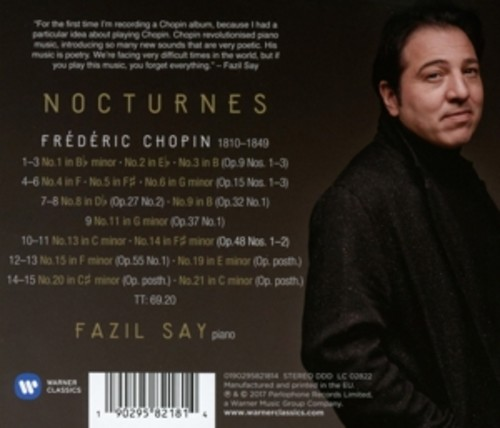 Chopin: Nocturnes - Fazil Say