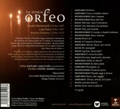 La Storia Di Orfeo - Philippe Jaroussky