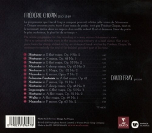 Chopin: Nostalgia - David Fray