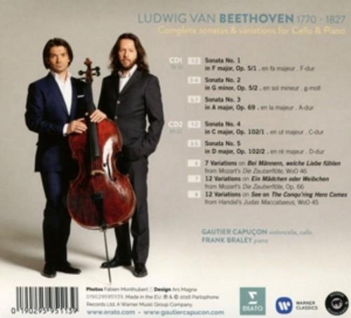 Beethoven: Sonatas And Variations - Gautier Capuçon & Frank Braley