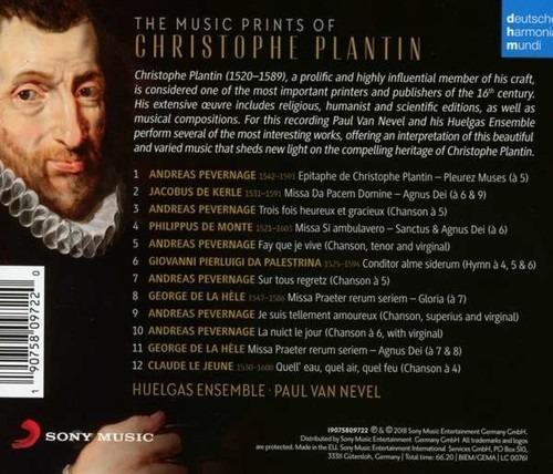 The Music Prints of Christophe Plantin - Huelgas Ensemble