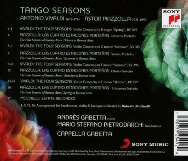 Tango Seasons - Andres Gabetta