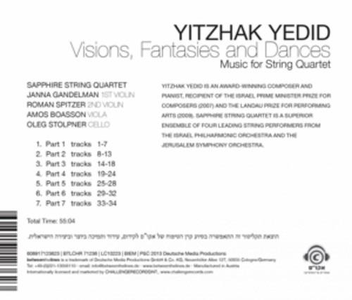 Visions, Fantasies And Dances - Yedid Yitzhak