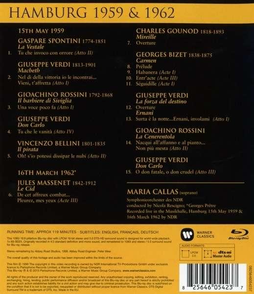 Callas Concert Hamburg 59&62