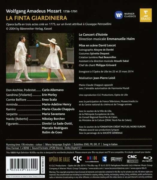 Mozart: La Finta Giardiniera - Haïm
