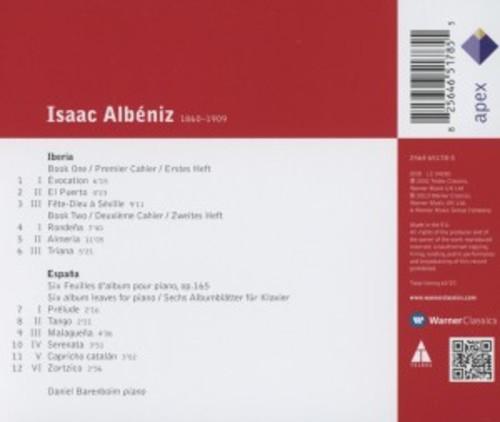 Albeniz: Iberia Books 1 & 2 / Espana