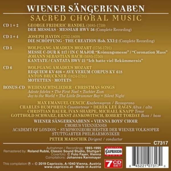 Sacred Choral Music - Wiener Sängerknaben