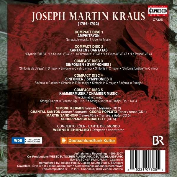 Josef Martin Kraus Edition - Simone Kermes