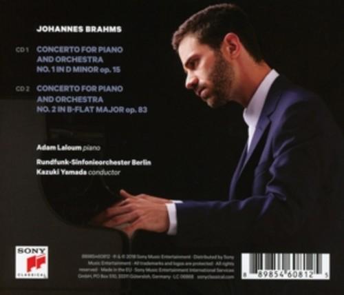 Brahms: Piano Concertos Nos.1 & 2 - Adam Laloum