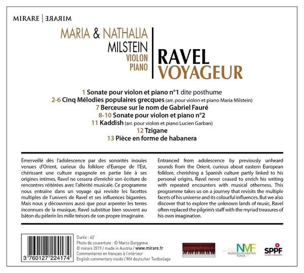 Ravel Voyageur - Nathalia Milstein