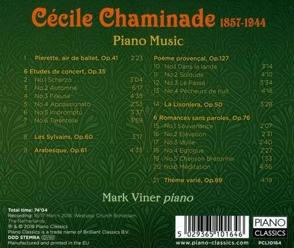 Cecile Chaminade Piano Music