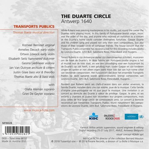 The Duarte Circle, Antwerp 1640 - Transports Publics - Thomas Baeté