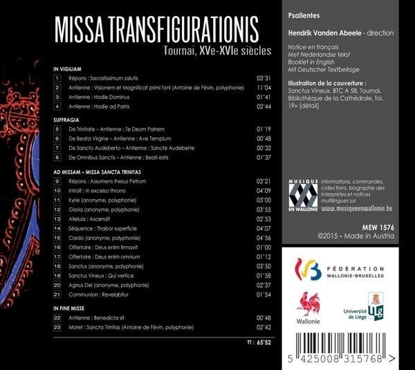 Missa Transfigurationis