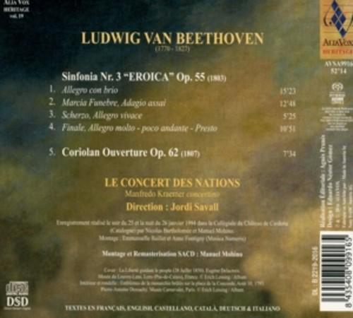 """L. Beethoven: Sinfonia Nr. 3 """"Eroica"""" Op. 55 - Le Concert Des Nations"""