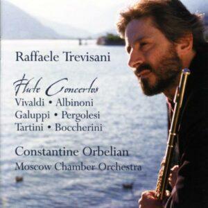 Raffaele Trevisani, flûte : Concertos pour flûte
