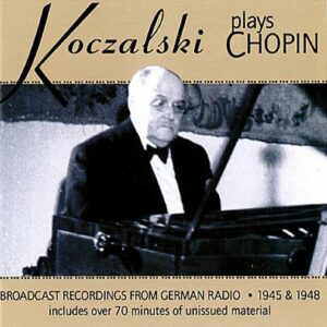 Koczalski plays Chopin