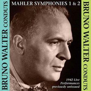 Mahler : Symphonies n°1 et 2. Walter.