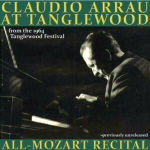 Claudio Arrau at Tanglewood.