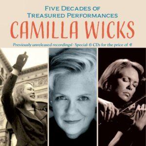 Camilla Wicks In Concert