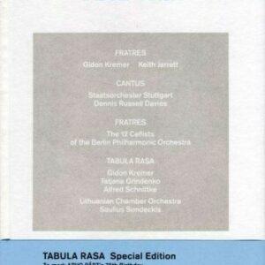 Arvo Part : Tabula Rasa (Edition Deluxe).