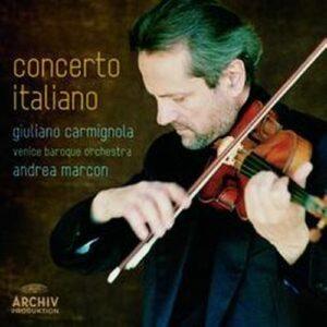 Concerto italiano. Carmignola,Marcon.