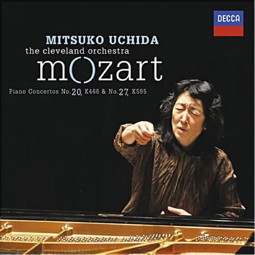Mozart : Concertos pour piano KV466 et 595. Uchida.