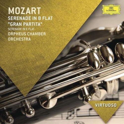 """Mozart: Serenade in B Flat - """"Gran Partita"""". Serenade in E Flat"""