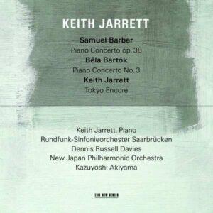 Barber / Bartok / Jarrett: Piano Concertos