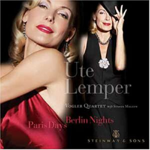 Ute Lemper : Paris Days, Berlin Nights