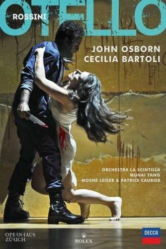 Rossini : Otello. Osborn, Bartoli, Tang (Dvd).