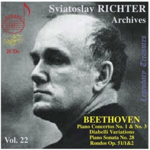 Ludwig van Beethoven : Sviatoslav Richter - Archives (Volume 22)