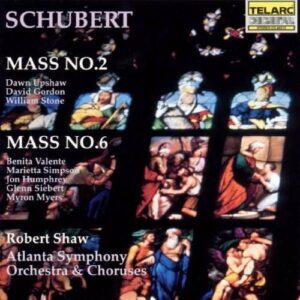 Schubert, Franz: Masses No. 2 & 6