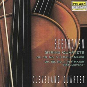 String Quartets Op.18,  No.6 /  Op.59,